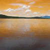 Artistic view of Somerset reservoir in Southern Vermont.
