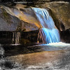 Small Waterfall,large boulders