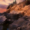 An Art Photograph of  Bass Harbor Lighthouse,Acadia Nat. Park Maine.