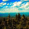 Adirondack Park landscape.