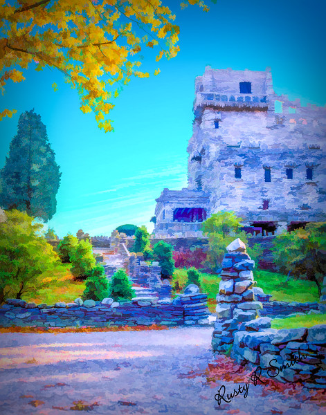 Gillete castle,East Haddam Connecticut.