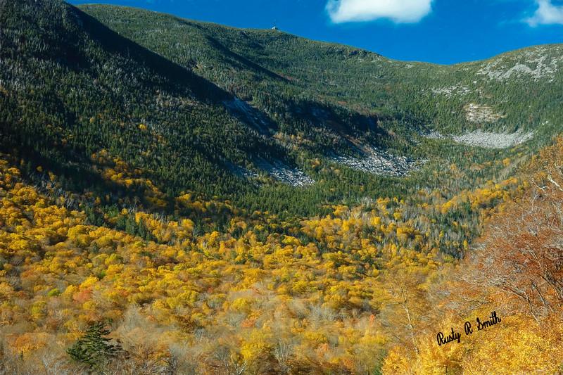 Autumn in Franconia New Hampshire.