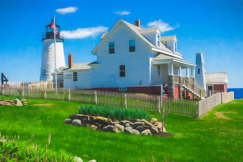 Pemiquid Lighthouse,Maine