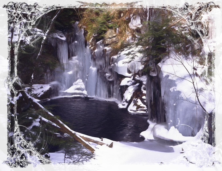 Winter Ice at Sages Revine