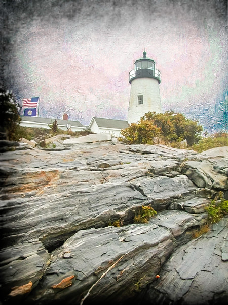 Pemaquid Lighthouse Maine Coast.