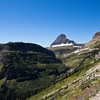 A horizontal stock photograph of a mountain view from the going to the sun road.East Glacier Nat. Park.North West  Montana