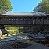 Whittier Covered Bridge Ossipee New Hampshire.
