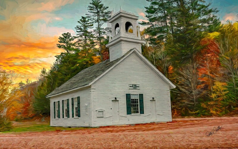 Stark Union Church.Stark New hampshire