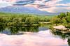 Scenic view of Mt. Katadin Maine