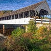 The Stark Covered Bridge  in Stark, New Hampshire.