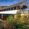 The Stark Covered Bridge  in Stark, New Hampshire.