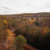 A horizontal Stock Photograph of the interstate 80 viaduct bridge near Snoeshoe Pennsylvania.