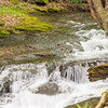 A small waterfall on Wykoff run Pennsylvania