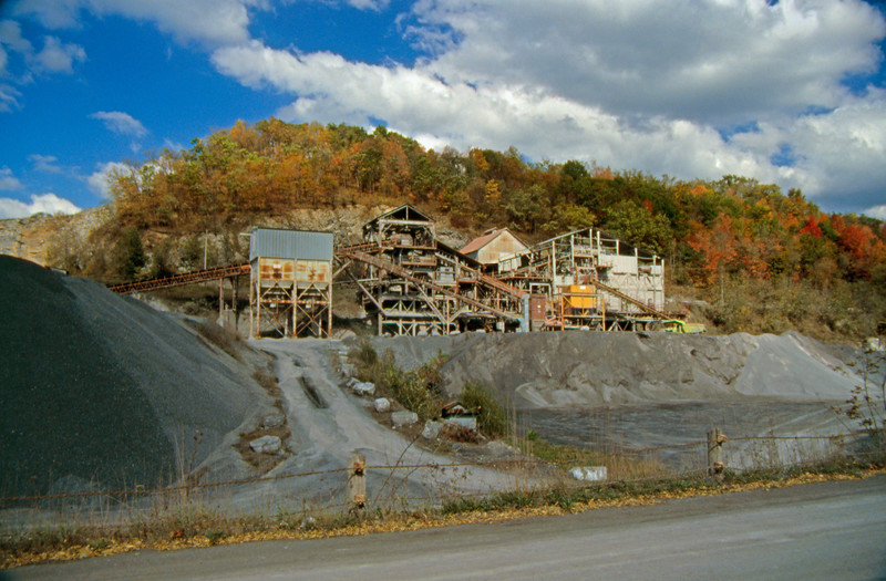 A coal processing plant in central Pennsylvania.