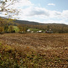 Scenic Fall view of Vermont country farm