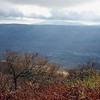 Stock photograph A Fall scenic view from Mt. Equinox Vermont