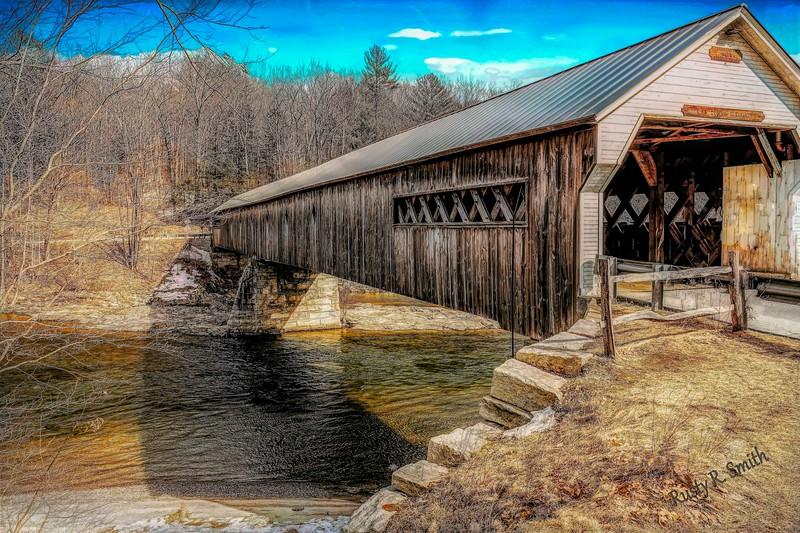 Hummerston covered bridge,Vermont.