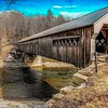 Hummerston covered bridge,Vermont.