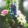 A  beautiful flower arrangement