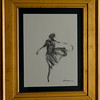 DANCING THE DREAM SERIES<br /> CHARCOAL  9 X 12