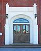 North entrance door