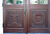 Entrance door carvings (north door)