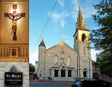 St Mary Catholic Church, Old Town Alexandria, VA