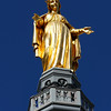 Escultura na Basílica Notre Dame de Fourvière