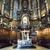 Interior da Abadia de Santa Maria de Montserrat