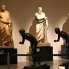 Esculturas no Museu Arqueológico de Nápoles