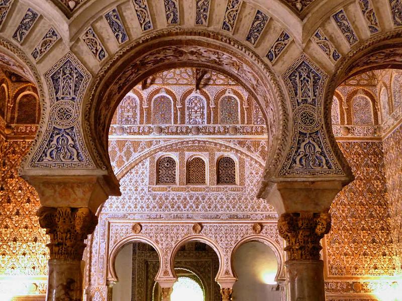 Interior do Alcazar de Sevilha