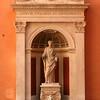 Escultura no Centro de Roma