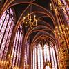 Interior da Sainte Chapelle