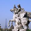 Escultura na Place de la Concorde