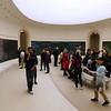 Interior do Museu de l'Orangerie