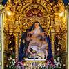 Interior do Santuário de Nossa Senhora da Piedade em Sanfins do Douro