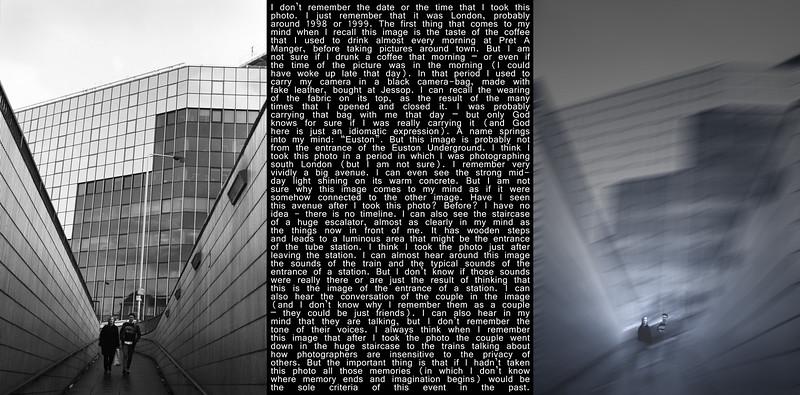 Fotografia VERSUS narrativa sobre o passado VERSUS memória episódica