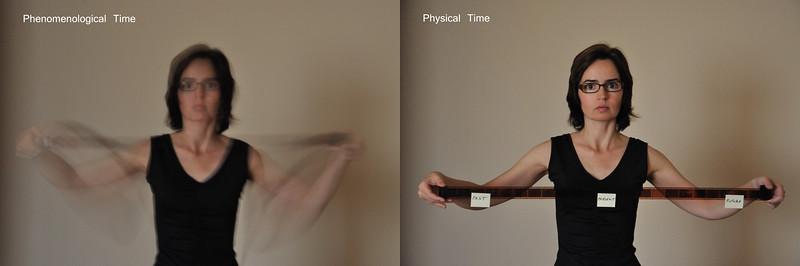 Diferença entre o tempo fenomenológico e físico