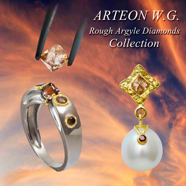 Arteon WG Jewellery, Argyle Diamonds,natural Gold Nuggets, Broome Pearls