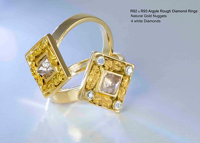 Arteon WG Rough Diamonds Jewellery Collection