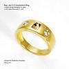 18ctYG Diamonds Ring