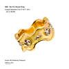 Full chanel yellow gold ring