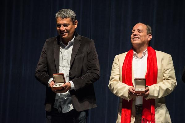 Entrega de la Medalla Xavier Villaurutia