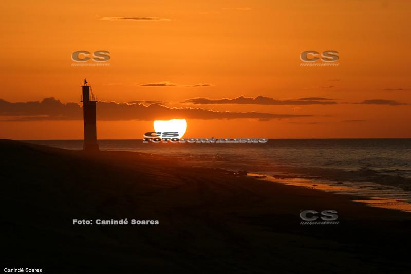 Pôr-do-sol em Galinhos