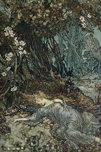 Titania Lying Asleep