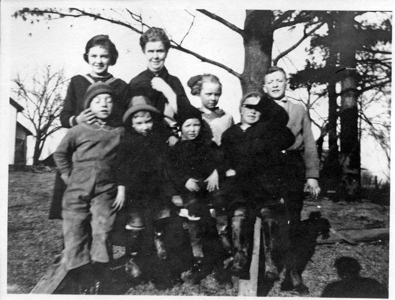 1922 - Anna Burgoyne -  Harriette Ruth John George Felix Fran