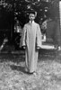 #9a Charles Rowland Stebbins in (High School or UofM) graduation gown