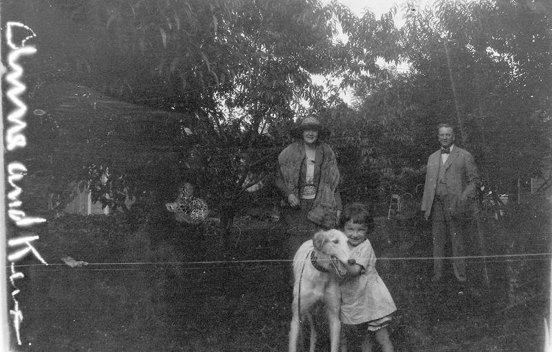#1 man-woman-girl with big dog