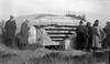 #9 Arthur & Rowland Stebbins inspect cement bunker