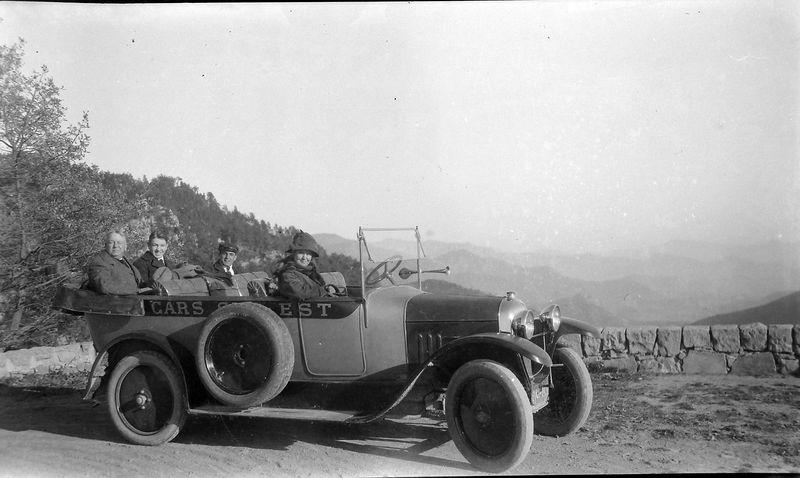 #1 Arthur-George-Anna B Stebbins in Cars-Est Europe
